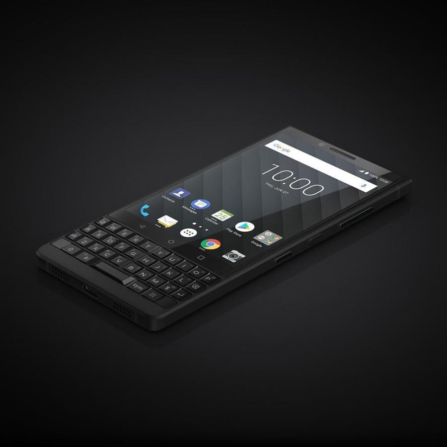 BlackBerry ブラックベリー スマホ SIMフリー KEY2 ブラック Android 8.1 4.5型 ストレージ:6GB/128GB nanoSIM×1 ドコモ/au/ソフトバンクSIM対応 caseplay 12