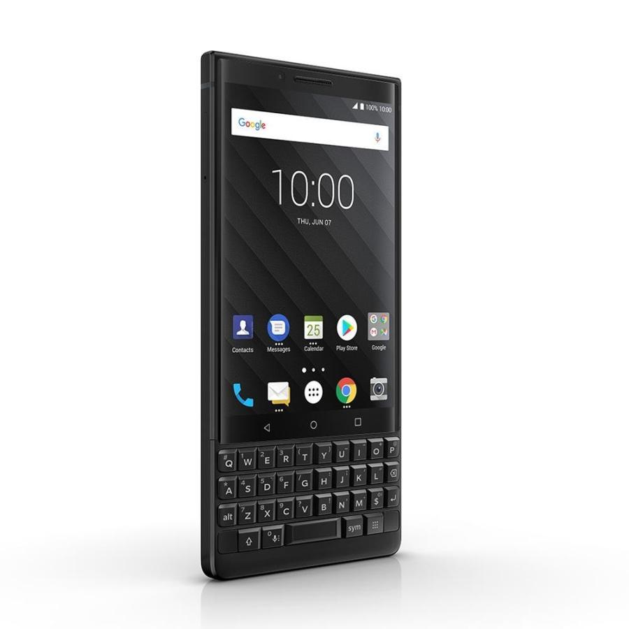 BlackBerry ブラックベリー スマホ SIMフリー KEY2 ブラック Android 8.1 4.5型 ストレージ:6GB/128GB nanoSIM×1 ドコモ/au/ソフトバンクSIM対応 caseplay 03