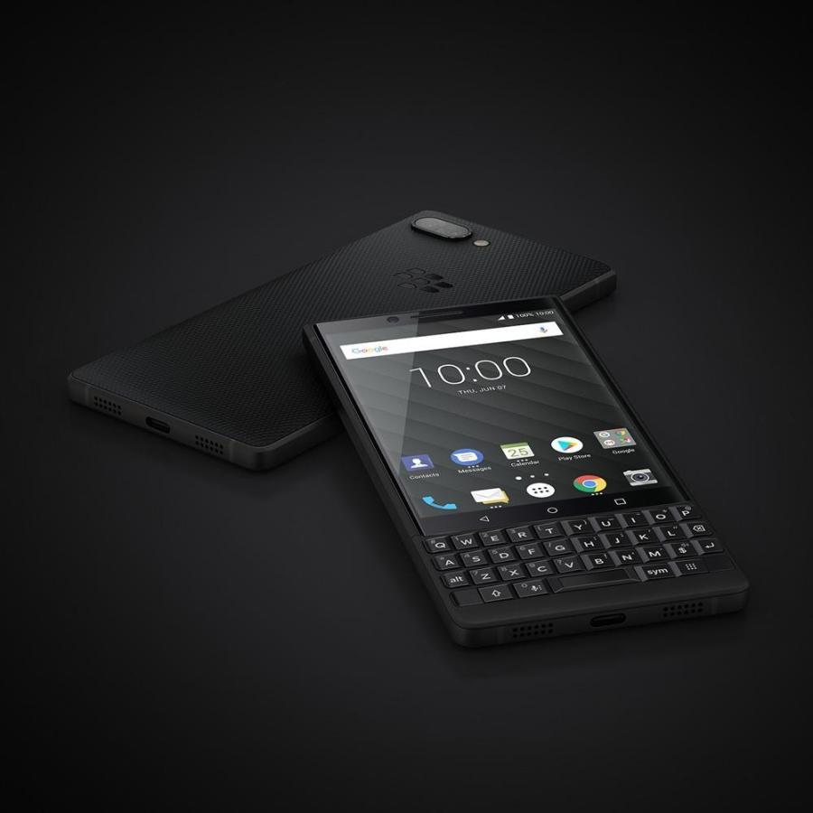BlackBerry ブラックベリー スマホ SIMフリー KEY2 ブラック Android 8.1 4.5型 ストレージ:6GB/128GB nanoSIM×1 ドコモ/au/ソフトバンクSIM対応 caseplay 09