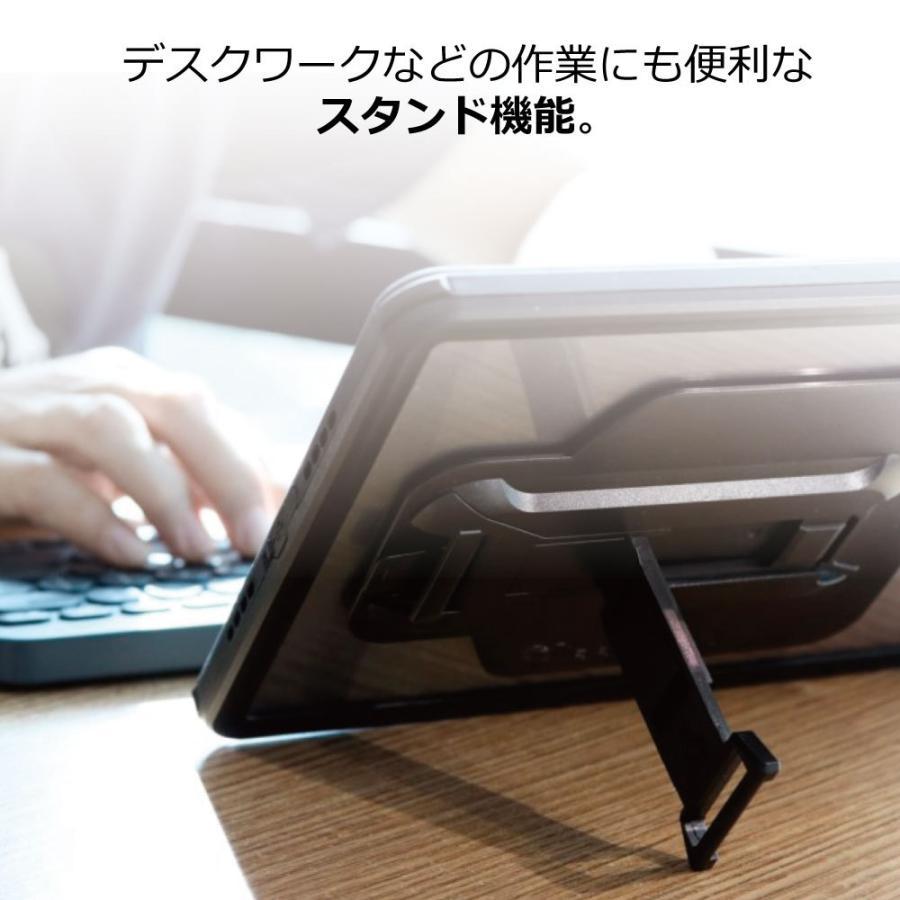 ARMOR-X iPad air4 ケース 全面保護 防水 衝撃 IP68 ストラップ付き Waterproof Case Hand Strap [ Black ] caseplay 05