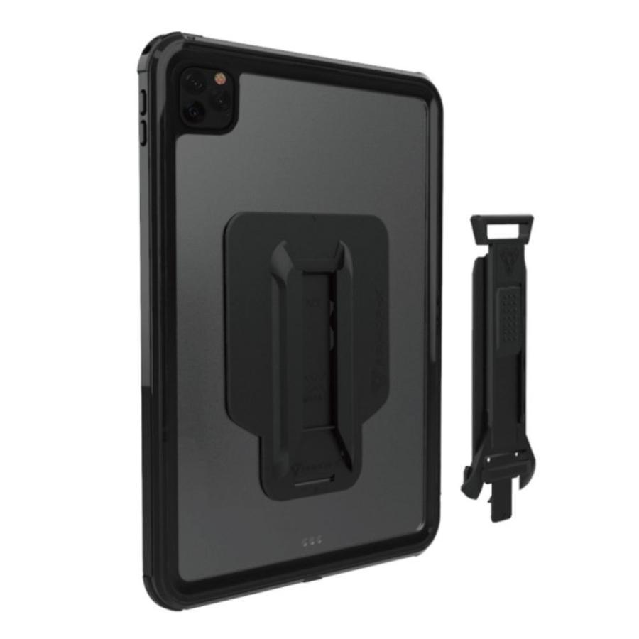 ARMOR-X iPad air4 ケース 全面保護 防水 衝撃 IP68 ストラップ付き Waterproof Case Hand Strap [ Black ] caseplay 08
