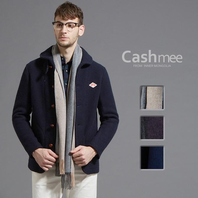 Cashmee 「カシミヤ100%パネルボーダーマフラー (全3色) vent 3color」 カシミヤ/カシミア/マフラー/ロング/ストール/カシミヤ マフラー/カシミア マフラー cashmee