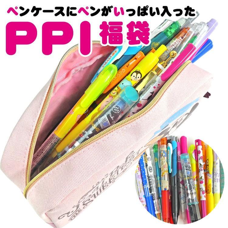 期間限定 お1人様1点限り 訳あり 福袋 ラッピング不可 I福袋 P 2021 ペンケースに入ったペンがいっぱい福袋 ラッピング無料
