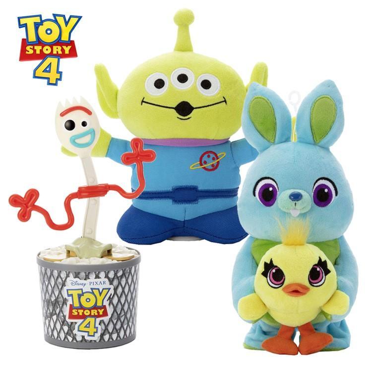 ディズニートイストーリー4 おもちゃ3点セット