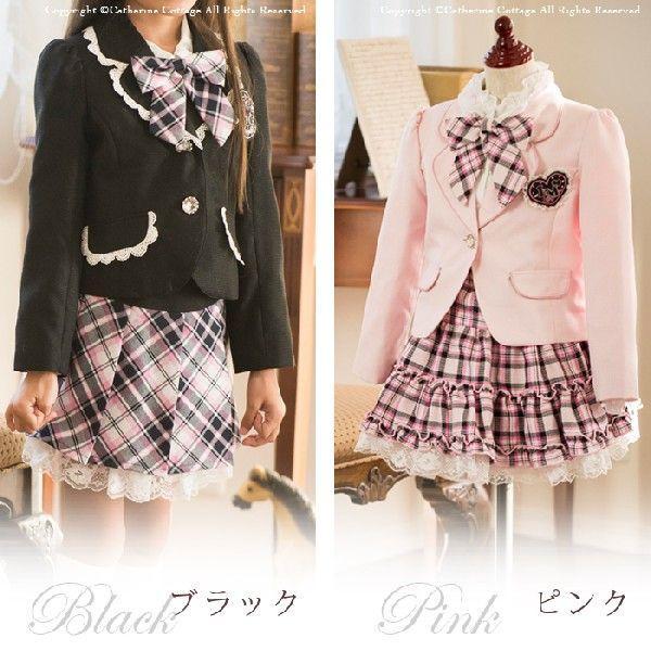 式 女の子 入学 スーツ