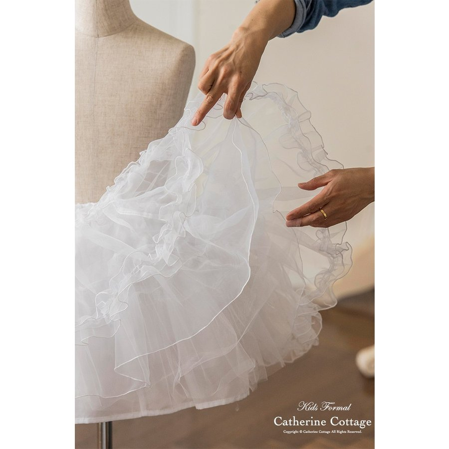 高級仕様 ふわふわシフォンパニエ 婦人用 結婚式にも キャサリンコテージ TAK|catherine|04