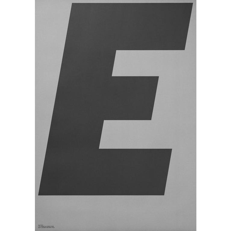 PLAYTYPE E-GREY ポスター|catstyle