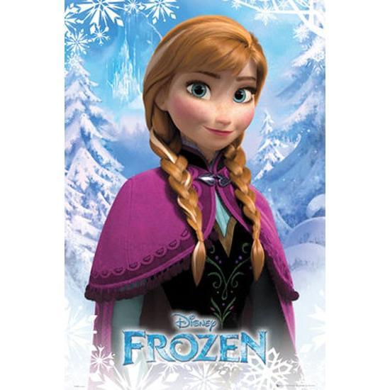 アナと雪の女王 アナ ポスター catstyle