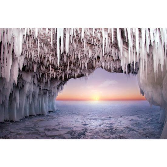 氷の洞窟 ポスター catstyle