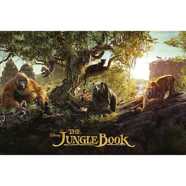 ジャングル・ブック パノラマ ポスター|catstyle