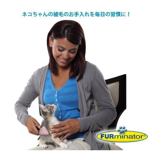 ファーミネーター お手入れキット 猫用 子猫用|cattery-branche|03