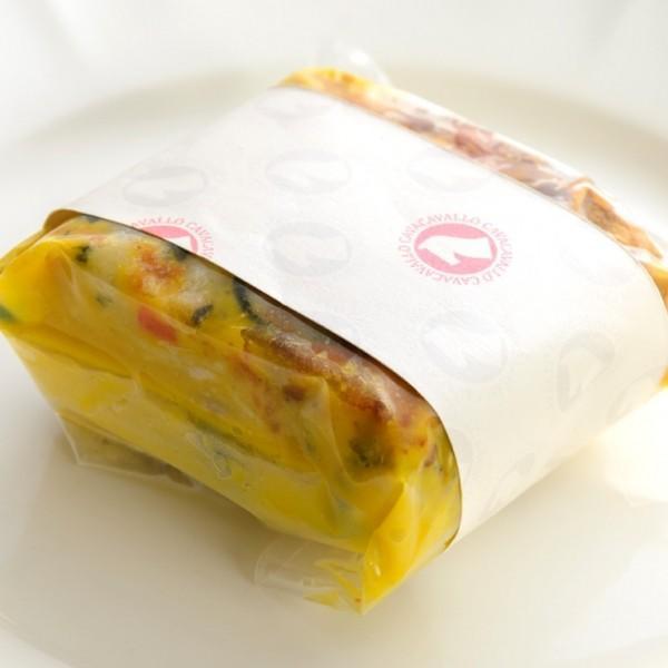 彩り野菜の ミルフィーユラザニア cavacavallo 02