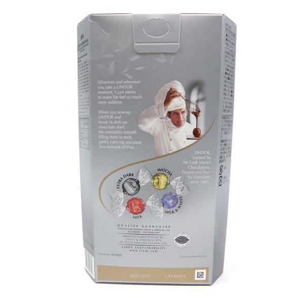 リンツ チョコレート リンツ リンドール シルバー アソート 4種類 600g コストコ チョコ トリュフ 詰め合わせ Lindt LINDOR Silver Assort|cavatina|04