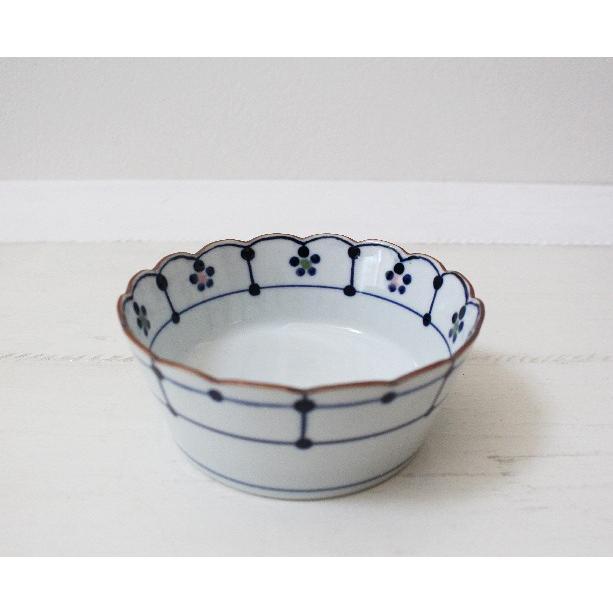 花びら 小鉢 鉢 ボウル 磁器 和食器 伝統工芸 京都染付 12.5cm|cayest|04