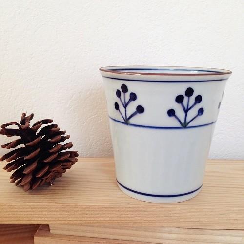 フリーカップ 湯呑 湯飲み 焼酎カップ 京都染付 陶峰窯 手作り オリジナルカップ |cayest|05
