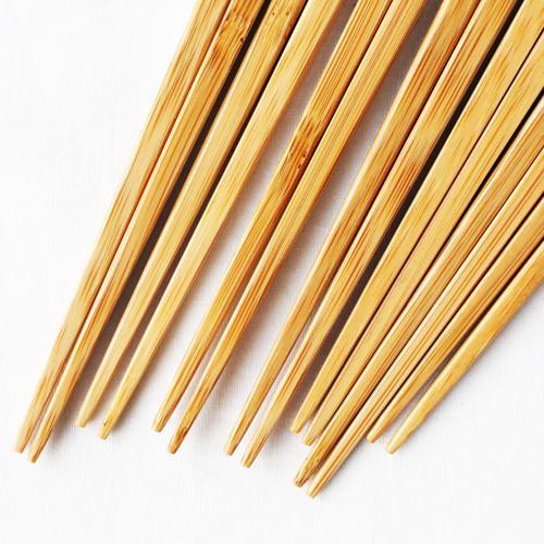 竹箸 チューリップ 21.5cm 大人用 赤/黄 かわいい お箸 国産孟宗竹 日本製 cayest 04