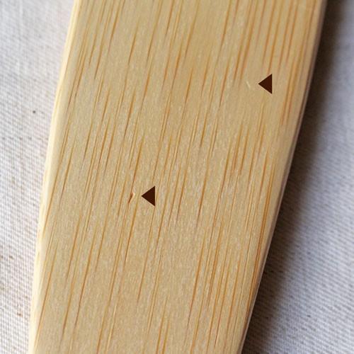 【訳あり】ピラフターナー 竹製 日本製 孟宗竹 細め ターナー フライ返し 木べら cayest 06