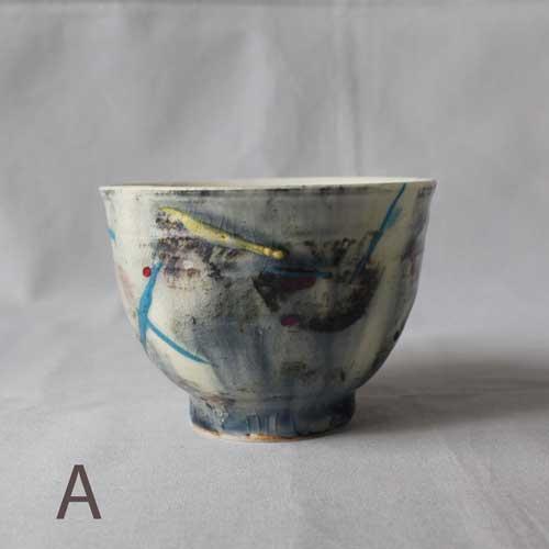 CHAOS 湯飲み 陶器カップ アート 廣川みのり 湯飲み オリジナル 個性派 おしゃれ|cayest|03