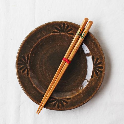 竹箸 チューリップ 16.5cm 子供用 赤/黄 かわいい お箸 国産孟宗竹 日本製 cayest 03