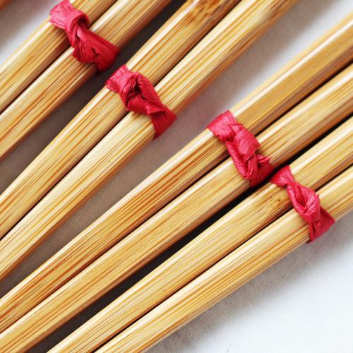竹箸 チューリップ 16.5cm 子供用 赤/黄 かわいい お箸 国産孟宗竹 日本製 cayest 06