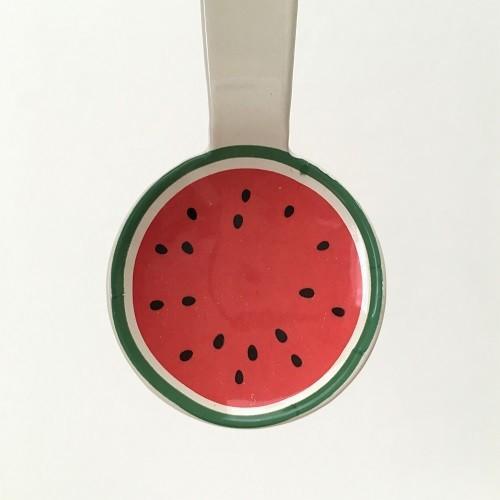 琺瑯 フルーツ柄 ミニスプーン 10cm スイカ/オレンジ/リンゴ 子供用 デザート用 ホーロー 日本製|cayest|06