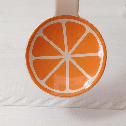 琺瑯 フルーツ柄 ミニスプーン 10cm スイカ/オレンジ/リンゴ 子供用 デザート用 ホーロー 日本製|cayest|04