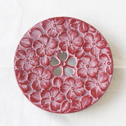 瓶敷き 桜 10.5cm 南部鉄器 桜赤/桜緑 お土産に人気 鍋敷き|cayest|08