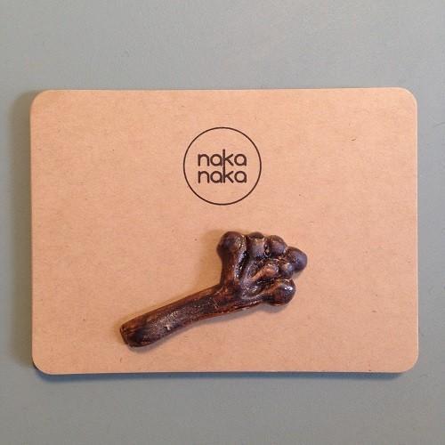 箸置き 木の実 植物 陶器 nakanaka 0126 ナチュラル おしゃれ cayest 05