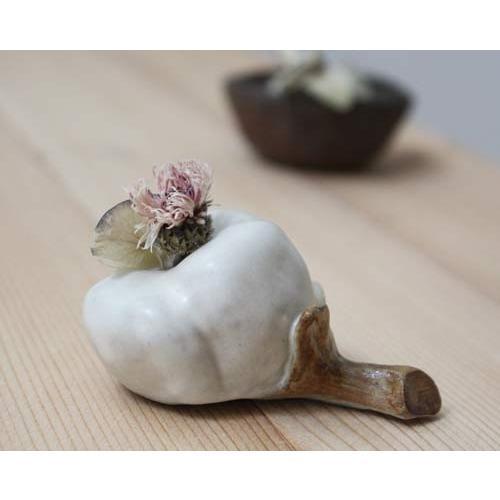 一輪挿し 花器 綿の花 花瓶 陶器 おしゃれ ドライフラワー nakanaka53 cayest 02