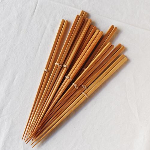 竹箸 ダイヤカット 無地 22.5cm 細め お箸 日本製 国産孟宗竹 cayest 02