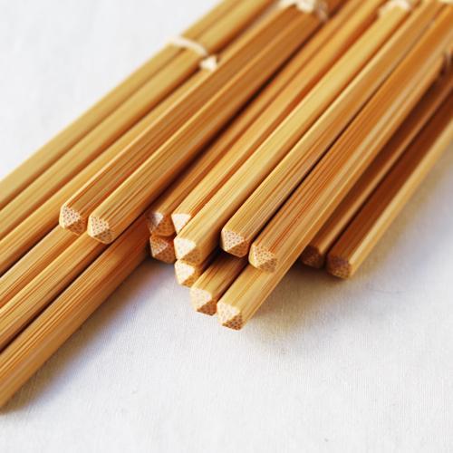 竹箸 ダイヤカット 無地 22.5cm 細め お箸 日本製 国産孟宗竹 cayest 06