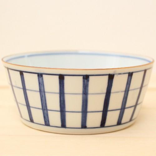 格子模様 チェック 小鉢  鉢 ボウル 和食器 京都染付 日本製 cayest 02