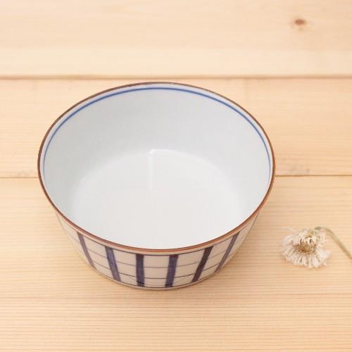 格子模様 チェック 小鉢  鉢 ボウル 和食器 京都染付 日本製 cayest 03