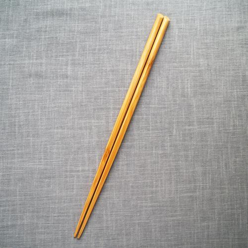 菜箸 竹製 30cm 料理箸 国産孟宗竹 シンプル 日本製 持ち心地しっかり cayest