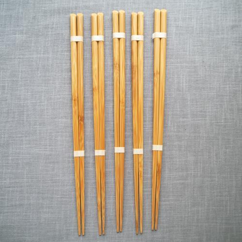 菜箸 竹製 30cm 料理箸 国産孟宗竹 シンプル 日本製 持ち心地しっかり cayest 04