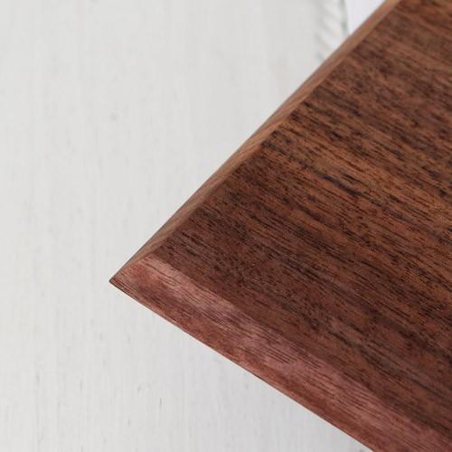 木製プレート 長方形 角型 オイル仕上げ 甲斐幸太郎 ウォルナット/ホワイトオーク コースタートレイ ロング|cayest|06