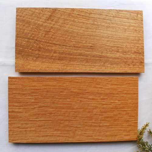 木製プレート 長方形 角型 オイル仕上げ 甲斐幸太郎 ウォルナット/ホワイトオーク コースタートレイ ロング|cayest|07