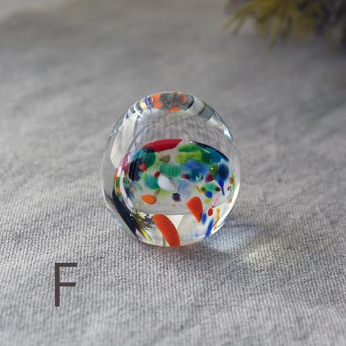 ペーパーウェイト ガラス 文鎮 吹きガラス 手作り tonari|cayest|06