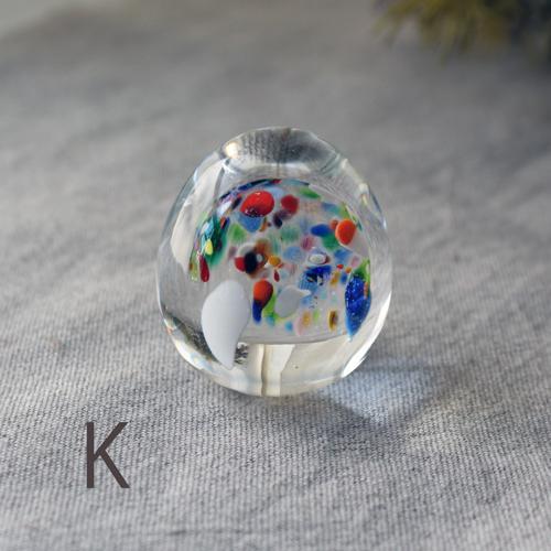 ペーパーウェイト ガラス 文鎮 吹きガラス 手作り tonari|cayest|09