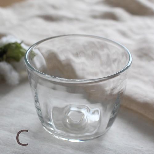 吹きガラス コップ グラス tonari シンプル ガラス食器 吹きガラス 手作り cayest 06