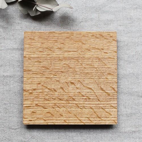 木製プレート スクエア オイル仕上げ 甲斐幸太郎 ウォルナット/ホワイトオーク コースタートレイ cayest 06