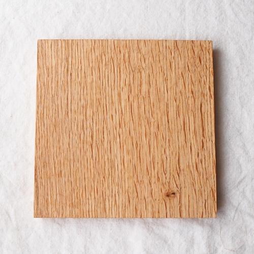 木製プレート スクエア オイル仕上げ 甲斐幸太郎 ウォルナット/ホワイトオーク コースタートレイ cayest 07