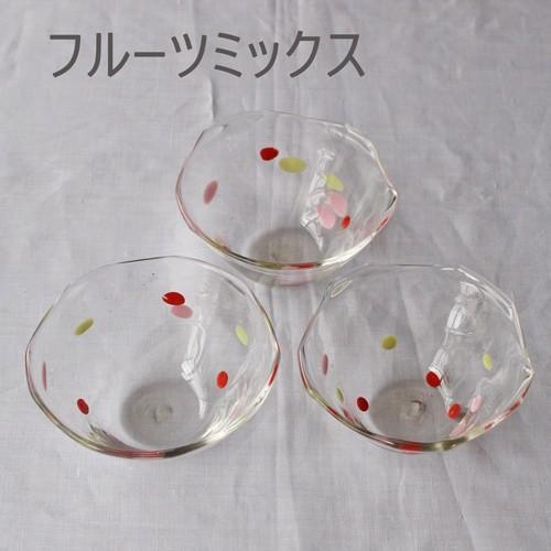 カラフルかき氷鉢 小鉢 12cm ガラスボウル tonari 吹きガラス 手作り kakigoori bowl cayest 06