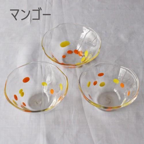 カラフルかき氷鉢 小鉢 12cm ガラスボウル tonari 吹きガラス 手作り kakigoori bowl cayest 07