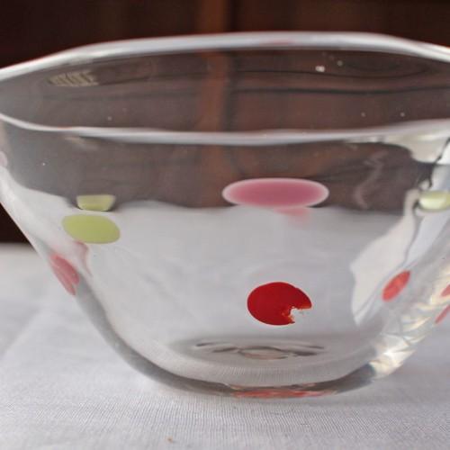 カラフルかき氷鉢 小鉢 12cm ガラスボウル tonari 吹きガラス 手作り kakigoori bowl cayest 04