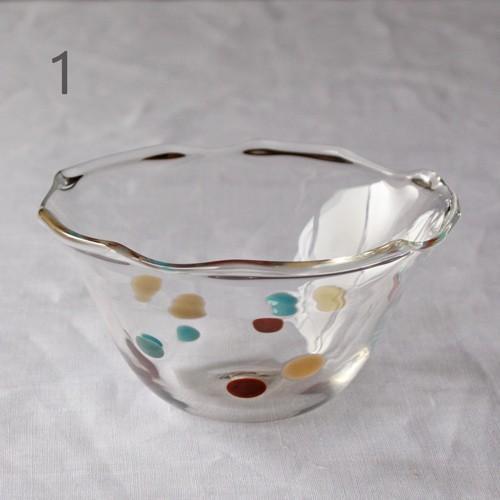 カラフルかき氷鉢 小鉢 12cm ガラスボウル tonari 吹きガラス 手作り kakigoori bowl cayest 08