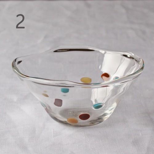 カラフルかき氷鉢 小鉢 12cm ガラスボウル tonari 吹きガラス 手作り kakigoori bowl cayest 09