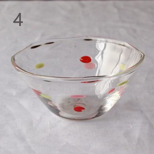 カラフルかき氷鉢 小鉢 12cm ガラスボウル tonari 吹きガラス 手作り kakigoori bowl cayest 11