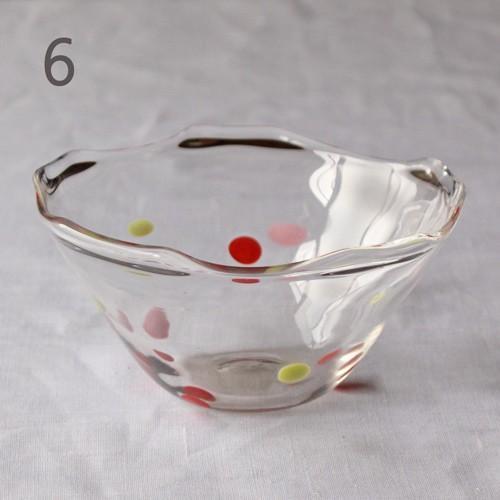 カラフルかき氷鉢 小鉢 12cm ガラスボウル tonari 吹きガラス 手作り kakigoori bowl cayest 13
