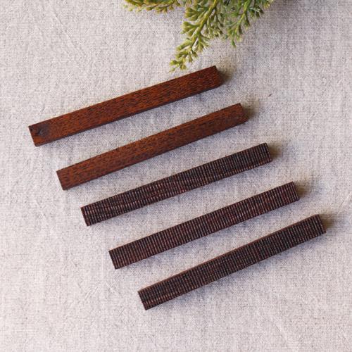 カトラリーレスト 木製 拭き漆 欅 箸置き 甲斐幸太郎 木工  和風 cayest 07